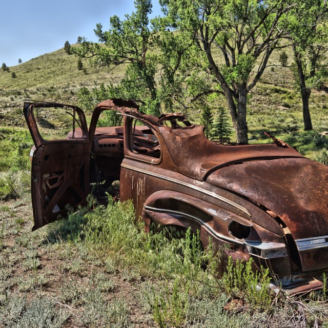 """""""Old Car 10"""" stock image"""
