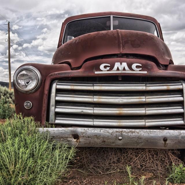 """Truck 1 GMC"" stock image"