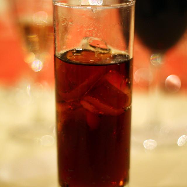 """Drinks"" stock image"