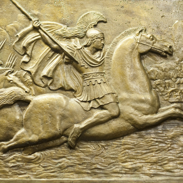 """""""Alexander the Great"""" stock image"""