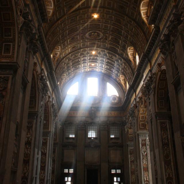"""St. Peter's Basilica"" stock image"