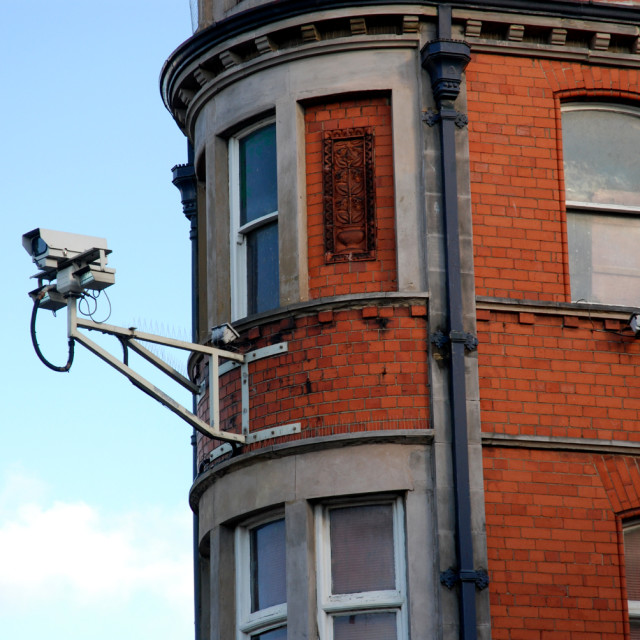 """CCTV camera"" stock image"