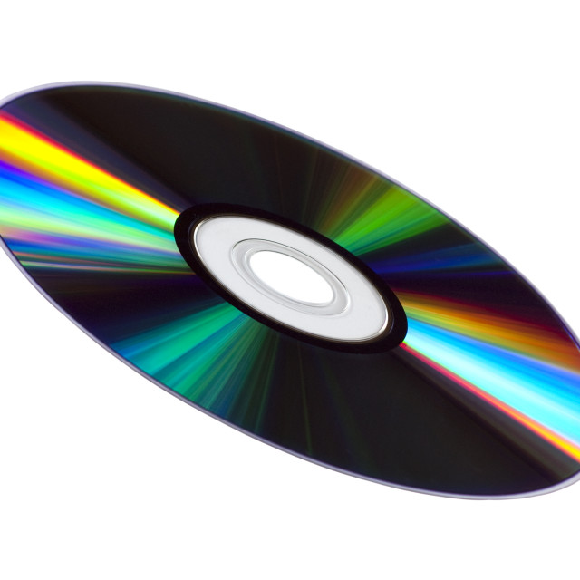 """CD or DVD Disk"" stock image"
