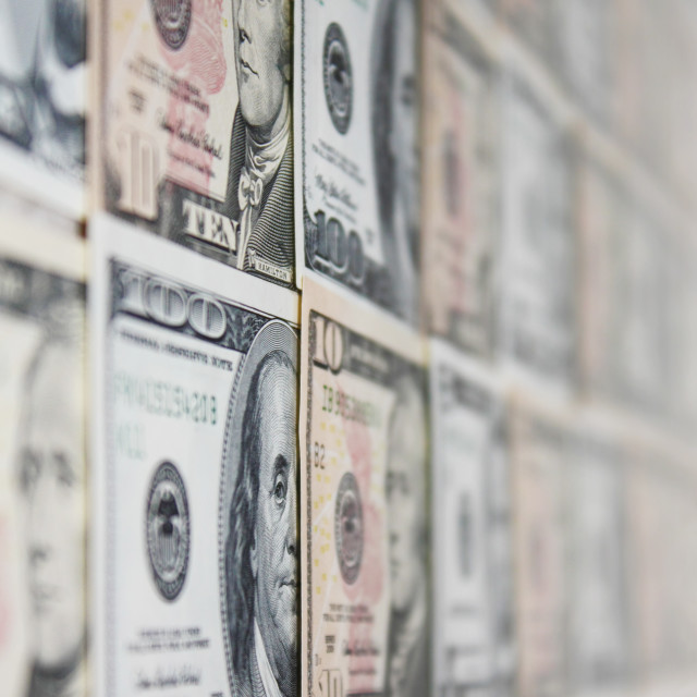 """Dollar Banknotes"" stock image"