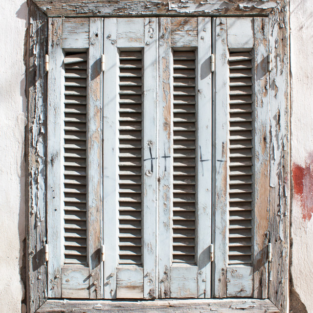 """""""Old wooden window"""" stock image"""