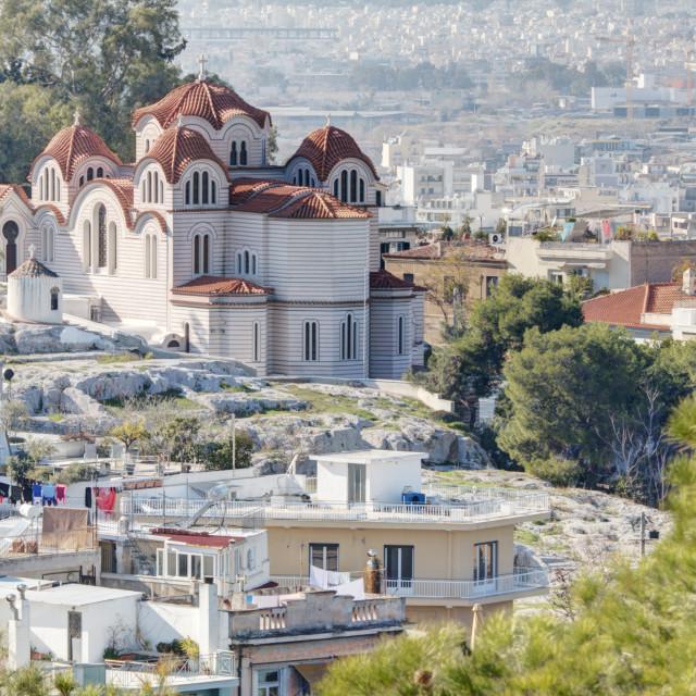 """Agia Marina Church"" stock image"