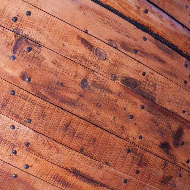 """Boat Hull Closeup"" stock image"