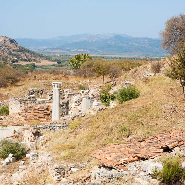"""Ephesus in Turkey"" stock image"
