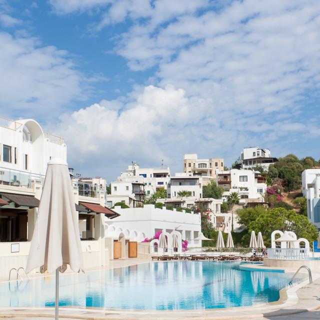 """Swimming Pool of Luxury Hotel"" stock image"