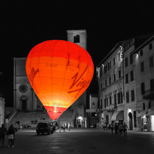 """""""Red Balloon"""" stock image"""