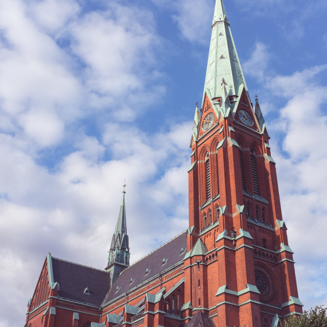 """""""Church towers"""" stock image"""