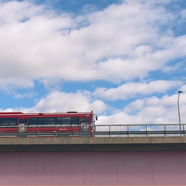 """Express bus"" stock image"
