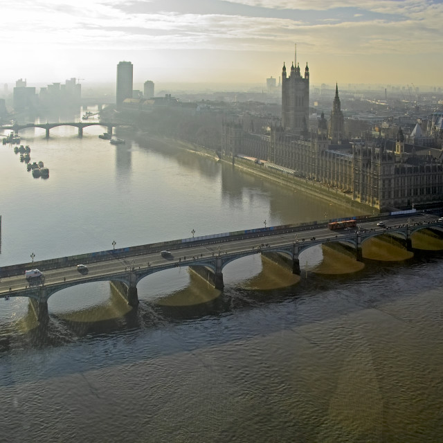 """""""Early morning London"""" stock image"""