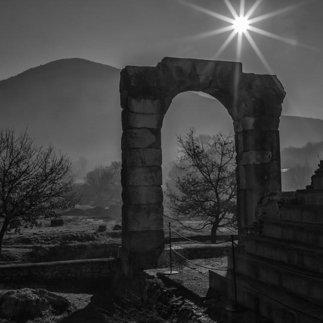 """Roman Arch"" stock image"