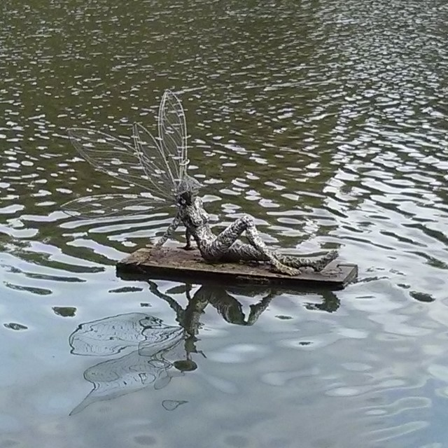 """""""Fairy on the Water"""" stock image"""