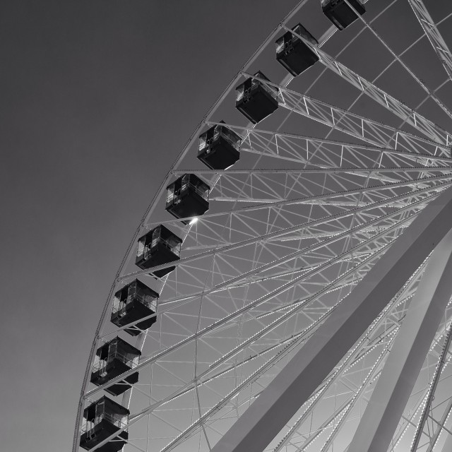 """Navy Pier Ferris Wheel"" stock image"