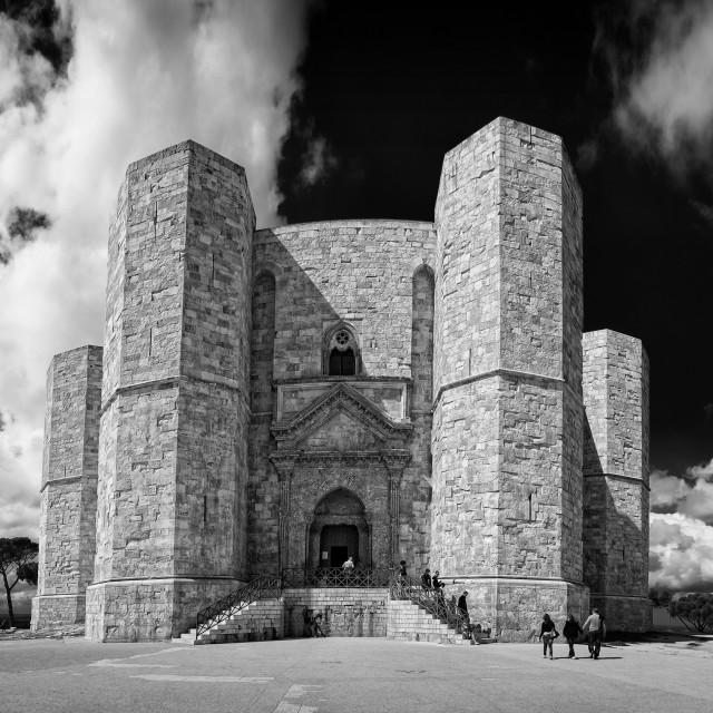 """""""Castello del Monte"""" stock image"""