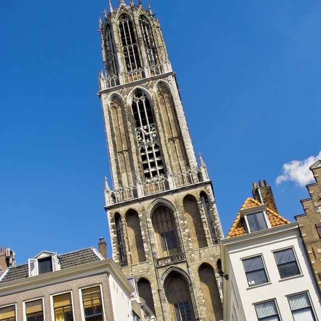 """""""Dom Cathedral in Utrecht"""" stock image"""