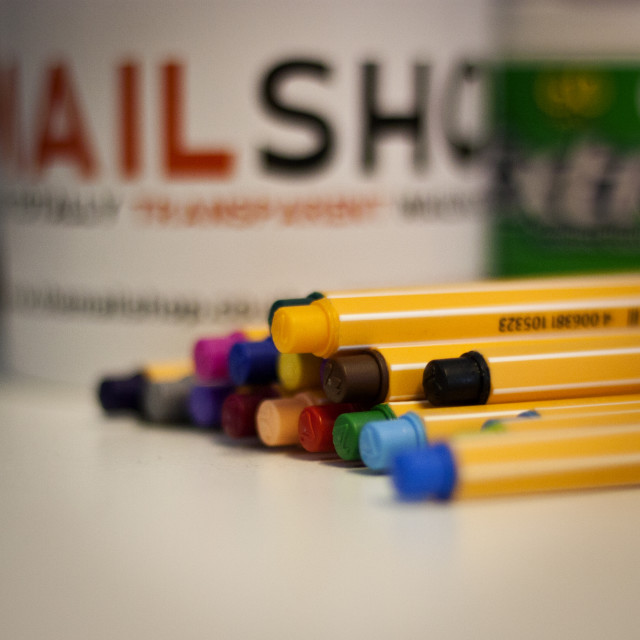 """Pens"" stock image"