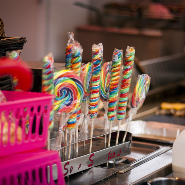"""""""Colourful sweets"""" stock image"""