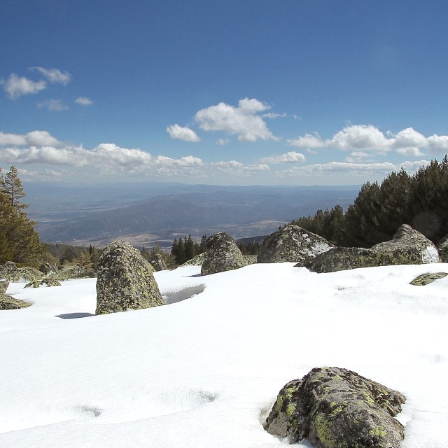 """May day view from Mt Vitosha"" stock image"