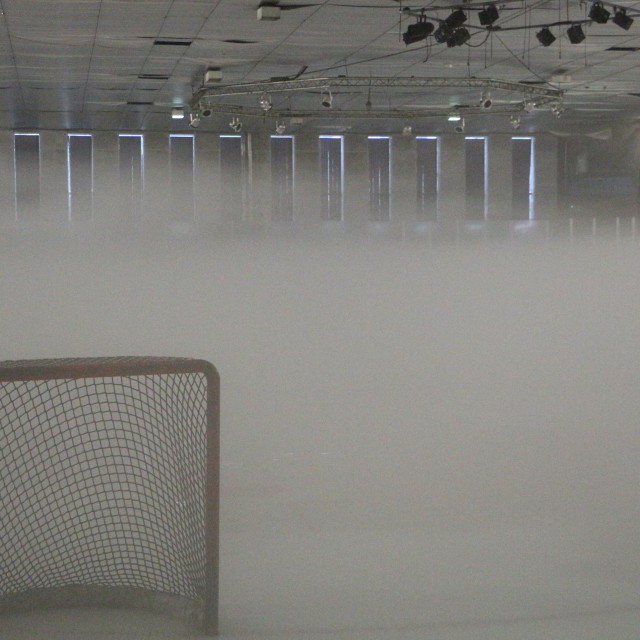 """Hockey Mist"" stock image"