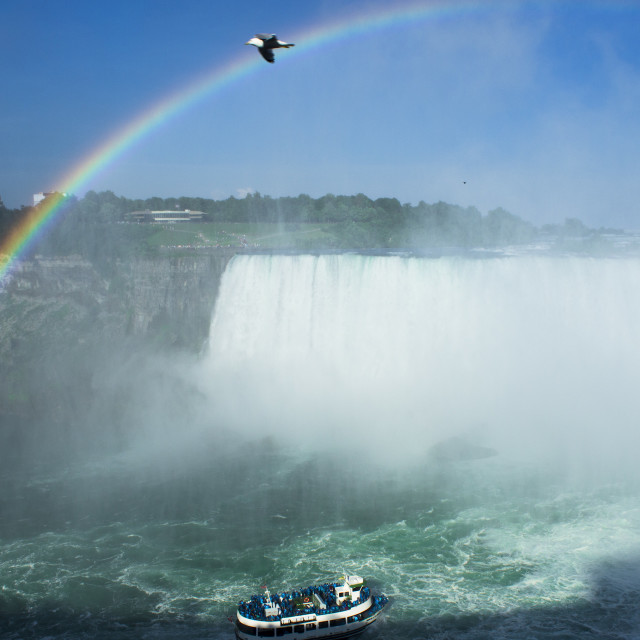 """Niagara Falls!"" stock image"