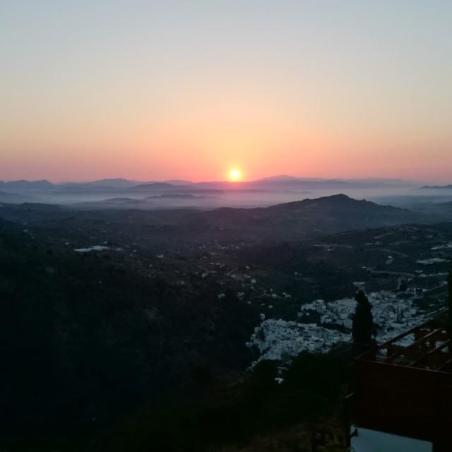 """""""Andalucia Sunrise"""" stock image"""