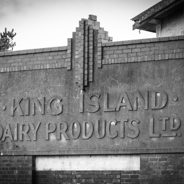 """The Old Dairy"" stock image"