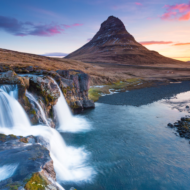 """good morning, Iceland!"" stock image"