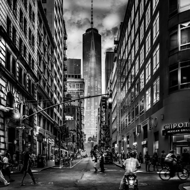 """Street life NYC"" stock image"