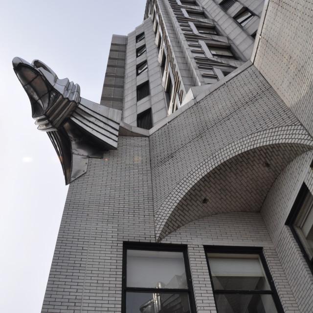 """""""Chrysler Building New York Eagles"""" stock image"""