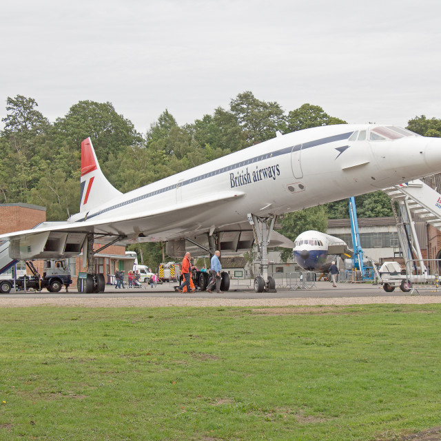 """concord, brooklands"" stock image"