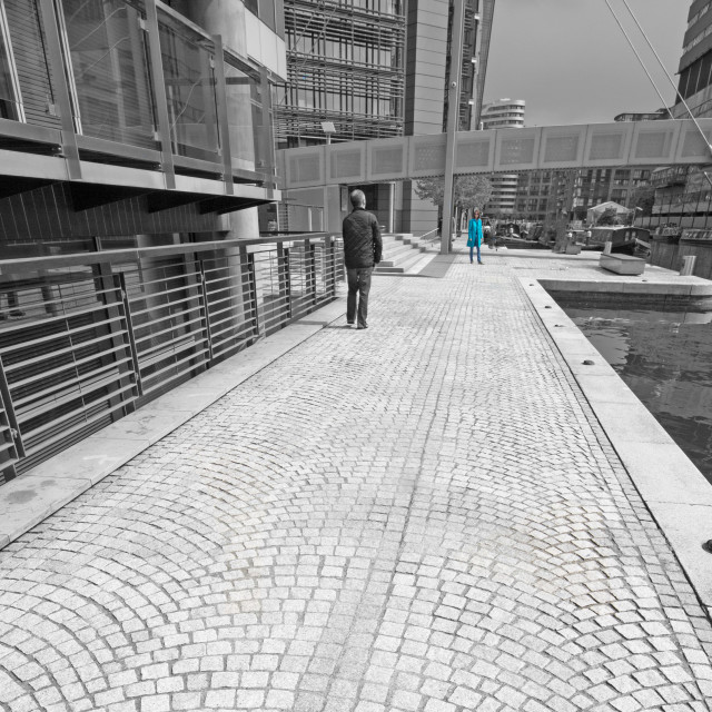 """paddington basin, london"" stock image"