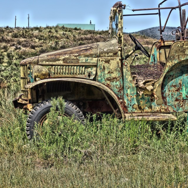 """Old Truck"" stock image"