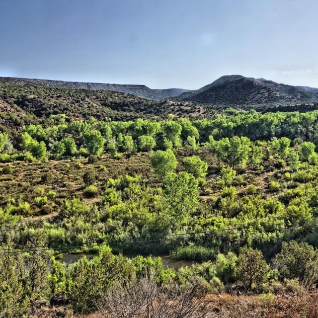 """Taos New Mexico Plains 1"" stock image"