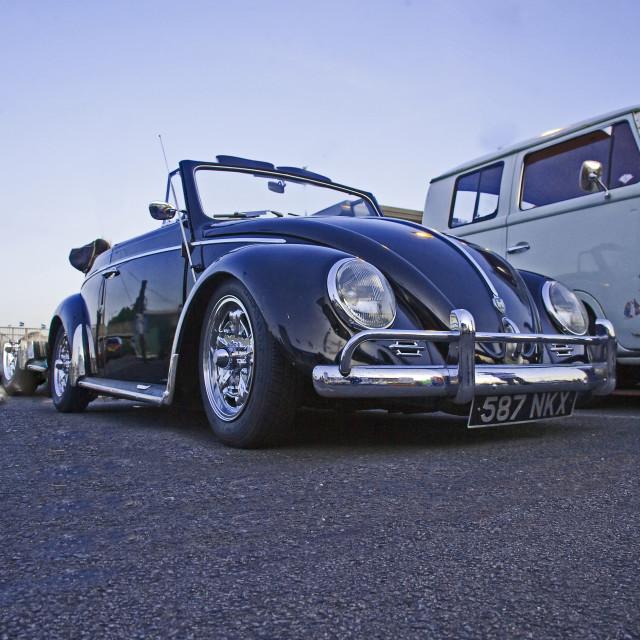 """1959, vw, beetle, karmann, cabriolet, beetle"" stock image"