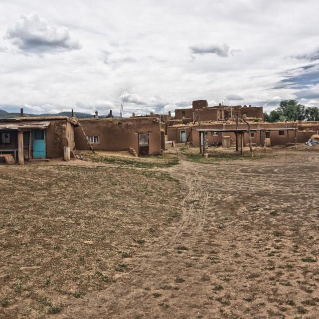 """""""Pueblo , NM"""" stock image"""