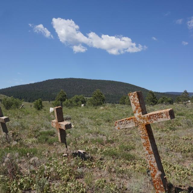 """Elizabeth town Cemetery 6"" stock image"