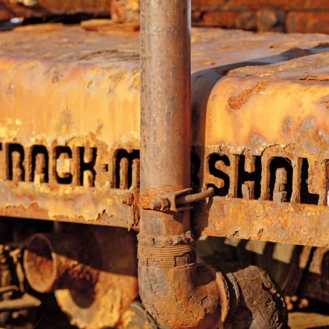 """Beach Tractor"" stock image"