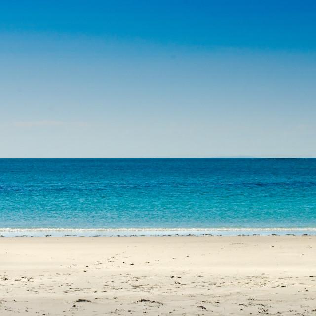 """Sky,sea,sand"" stock image"