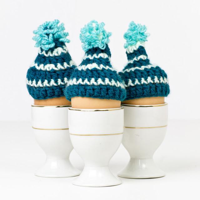 """""""Cosy Eggs"""" stock image"""