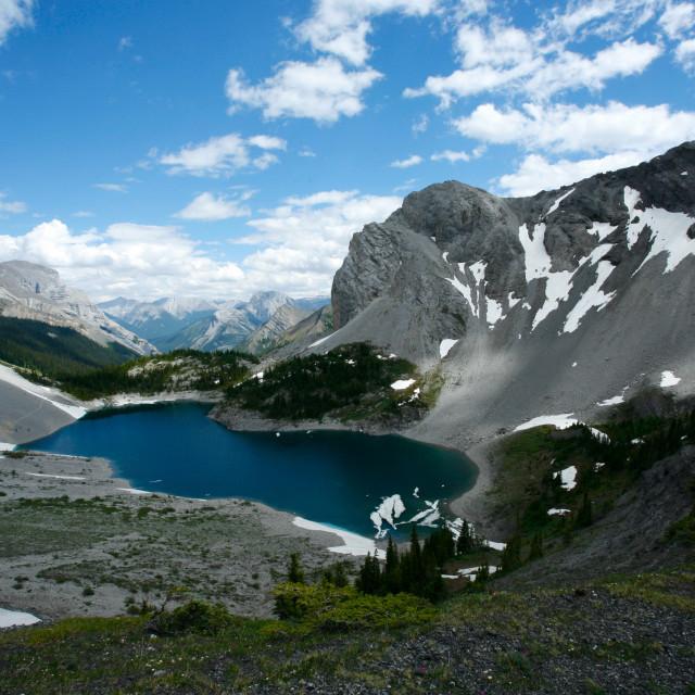 """Galatea Lake"" stock image"