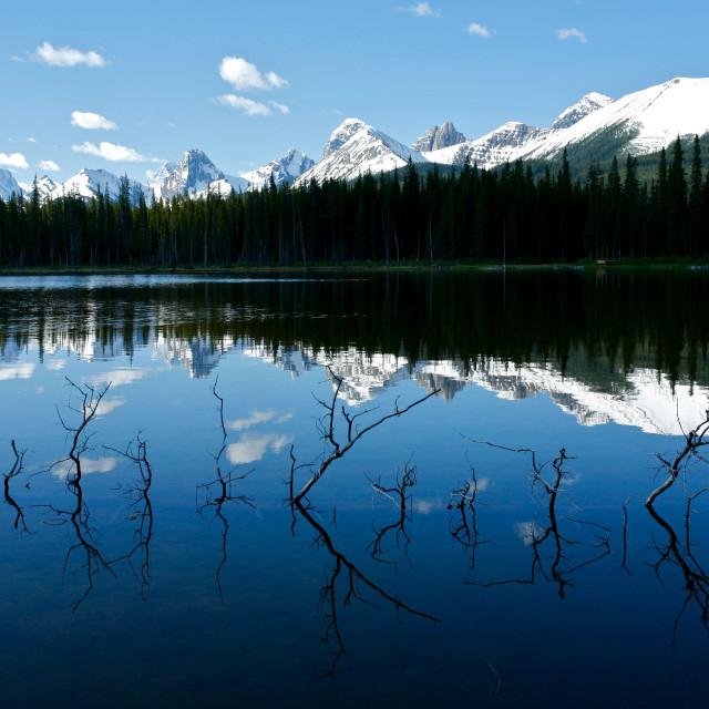 """Buller Lake 01"" stock image"