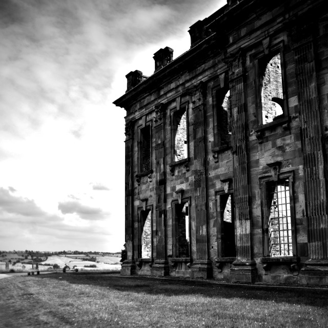"""""""Sutton Scarsdale Hall"""" stock image"""