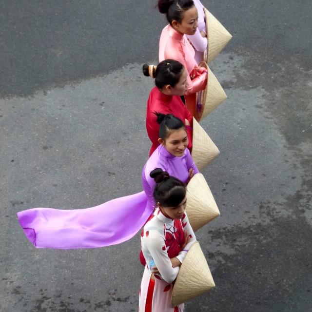 """""""Vietnamese girls"""" stock image"""
