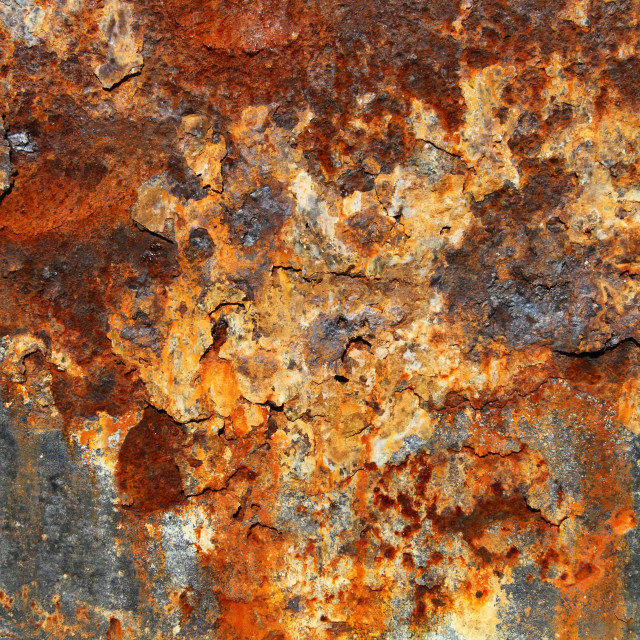 """Rusty Metal Texture 05"" stock image"