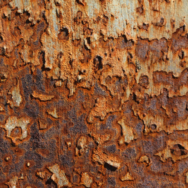 """Rusty Metal Texture"" stock image"