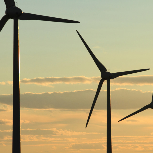 """Wind Turbines 03"" stock image"