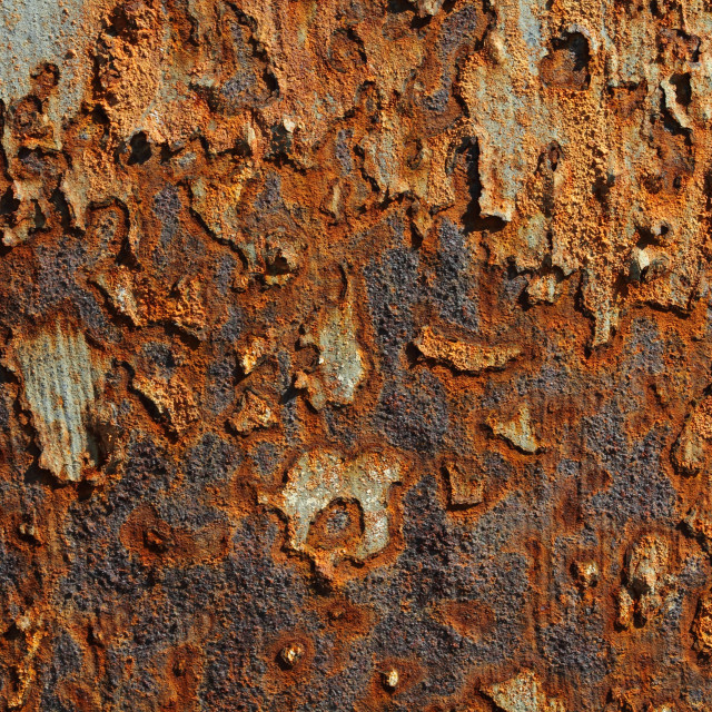 """Rusty Metal Texture"" stock image"